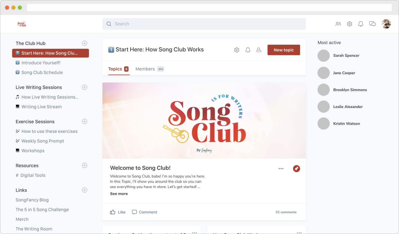 Song-Club-Dashboard-Screenshot-2